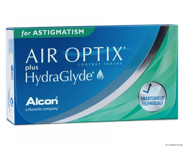 AIR OPTIX® plus HydraGlyde for ASTIGMATISM