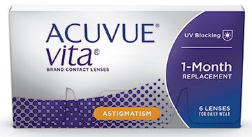 ACUVUE® VITA ™ for Astigmatism