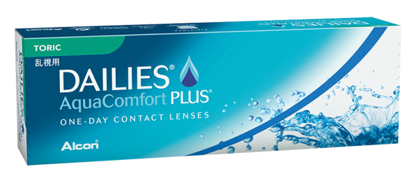 FOCUS DAILIES® AquaComfort Plus® Toric 30er