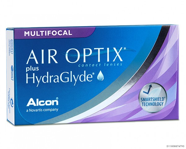 AIR OPTIX® plus HydraGlyde® Multifocal 6er-Box