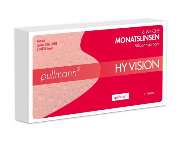 PULLMANN HY VISION Silikonhydrogel Monatstauschlinsen