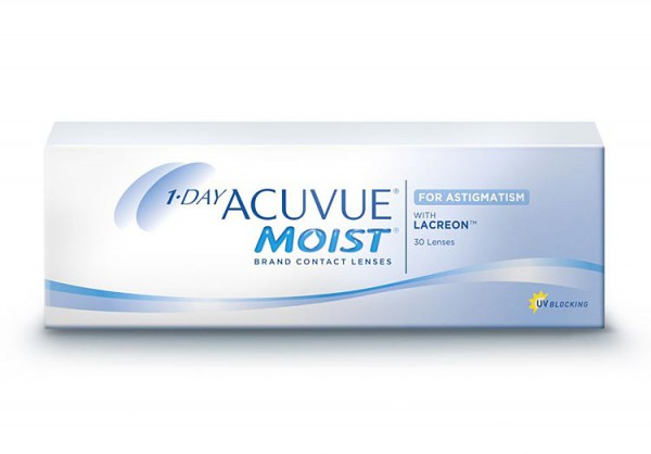 1•DAY ACUVUE® MOIST® for ASTIGMATISM 30 Tage