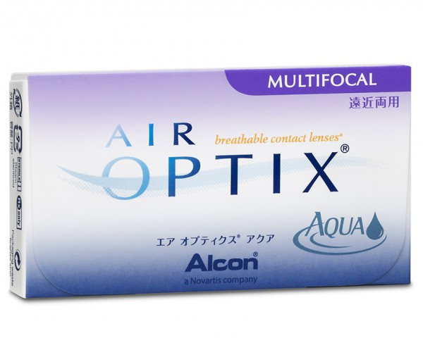 AIR OPTIX® Aqua Multifocal 6er-Box